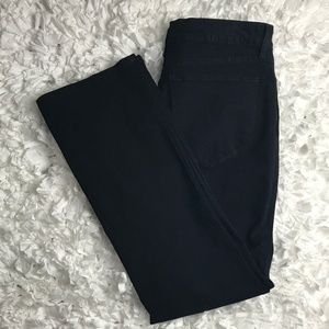 NYDJ Black Boot Cut Jeans Size 12